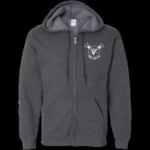 MH Logo Zip Up Hooded Sweatshirt